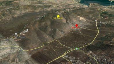 Posisi Ain Jalut sekarang di koordinat 32°46'36.03″N 35°22'8.72″E